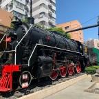 Mit Verspätung im Eisenbahnmuseum