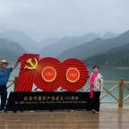 Heavenly Lake im Tianshan